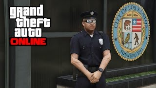 GTA 5 Online - How to Get the Police Uniform After 1.26/1.28