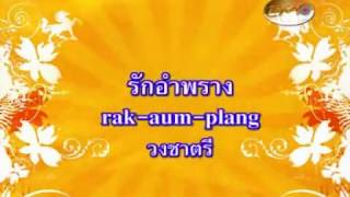 รักอำพราง - วงชาตรี [ MV KARAOKE ]