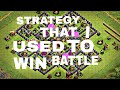 STRATEGY OF MY IN CLASH OF CLANS