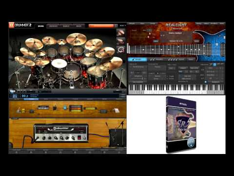 Metalcore: MusicLab RealEight + EZDrummer 2 + Overloud TH2 + Prominy SR5 Rock Bass