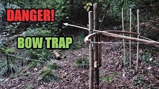 Bow Trap ~ Lethal ~  Primitive ~ Survival