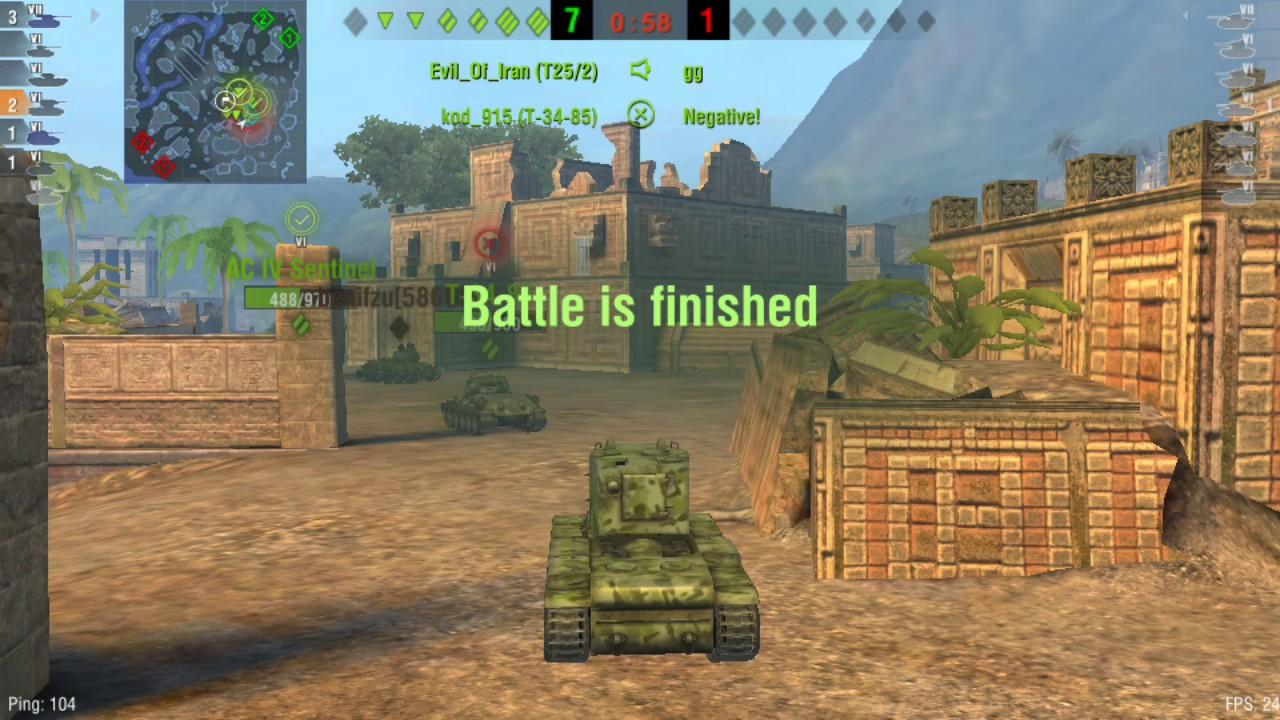 KV-2 + WHY I WAS OFFLINE - World of tanks blitz