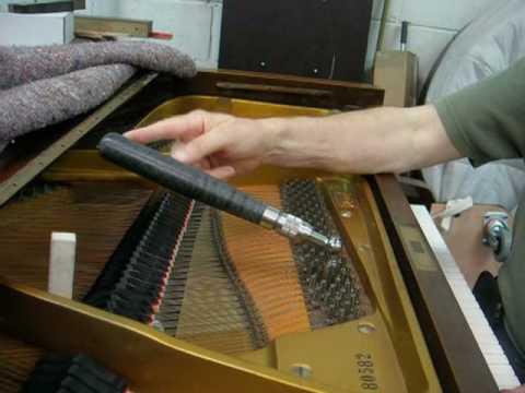 Tuning Hammer Technique On Grand Piano