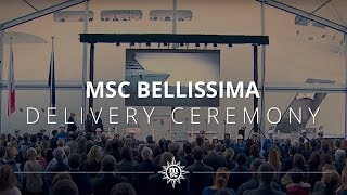 MSCBellissima is finally delivered. Enjoy the highlights from the c...