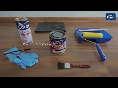 Decore com efeito lousa | Tintas Coral