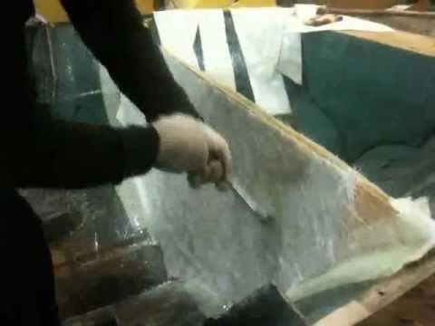 стекловолокно и эпоксидная смола для лодки