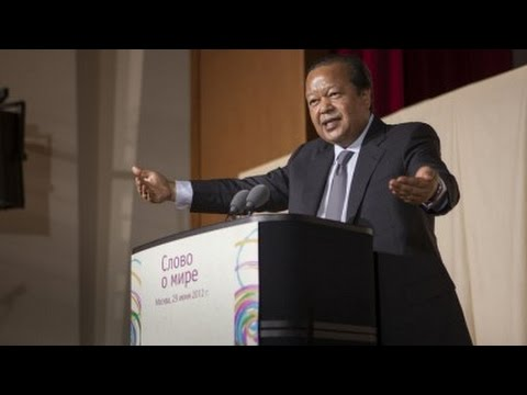 Prem Rawat at Synergy University, Moscow, Russia