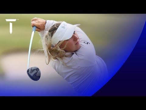 Emily Kristine Pedersen shoots 67 | Round 2 Highlights | 2021 Scandinavian Mixed