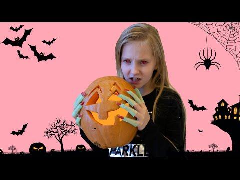 Хеллоуин на канале Eva Life TV / Ева Никита и Миша готовятся к Хеллоуину