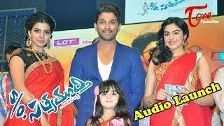 S/O Satyamurthy Audio Launch | Allu Arjun | Samantha | Nitya Menon Video