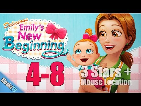 Delicious Emily's New Beginning - Level 4-8 Wu's Cuisine Walkthrough