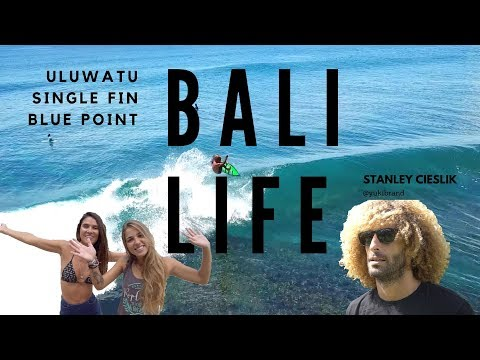 Padang Padang Beach, Uluwatu, Single Fin and Blue Point | Part 2
