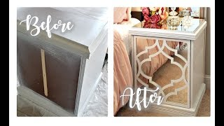 DIY Furniture Makeover | Nightstand Update | My Overlay DIY