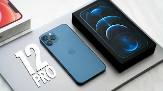 iPhone 12 Pro UNBOXING - PACIFIC BLUE