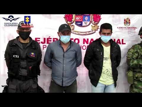 Autoridades presentaron a quien sería el máximo cabecilla de la Comisión Ismael Ruiz fue capturado