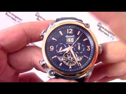 Видео обзор часов ingersoll i03101
