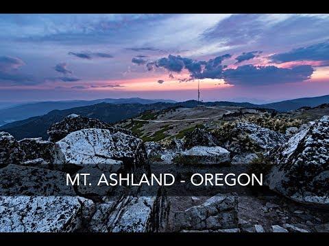 Sunset Photography On Location - Mt. Ashland, Oregon