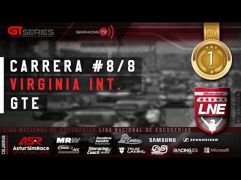 iRacing | GT Series | V LNE | 1ª División | Carrera 8