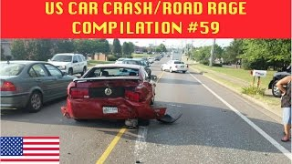 🇺🇸 [US ONLY] US CAR CRASH/ROAD RAGE COMPILATION #59