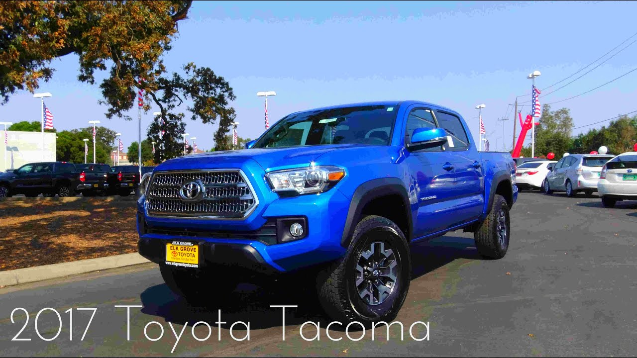 2017 toyota tacoma trd 3 5 l v6 review funnydog tv. Black Bedroom Furniture Sets. Home Design Ideas