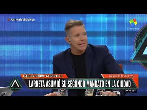 """El país en modo """"transición"""": Habló Alberto F"""