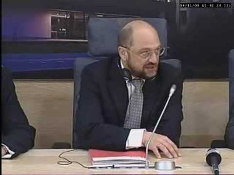 Martin Schulz, Chairman of Socialist Group in the EP