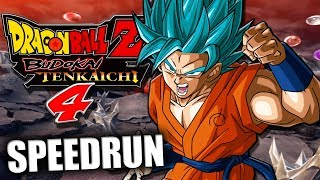 DBZ Budokai Tenkaichi 4 - SPEEDRUN (Todos os Torneios e Saga Super)