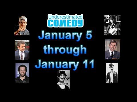 This Week in Comedy History Jan 5 - Jan 11