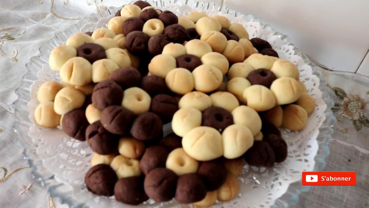 cuisine algérienne: les sablés sans oeufs سابلي بدون بيض - matbakh