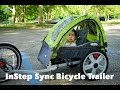 InStep Sync Bicycle Trailer Review (Attached to a Folding Bike)