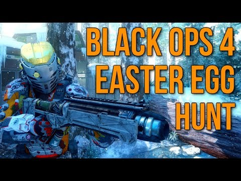 Black Ops 4 Easter Egg Hunt In Black Ops 3 Redwood Snow Map Call