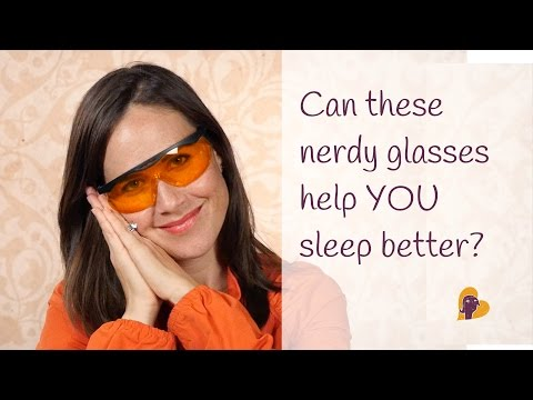 Can These Nerdy Glasses Help YOU Sleep Better?