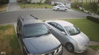 06/05/2017 - Car thief on bicycle