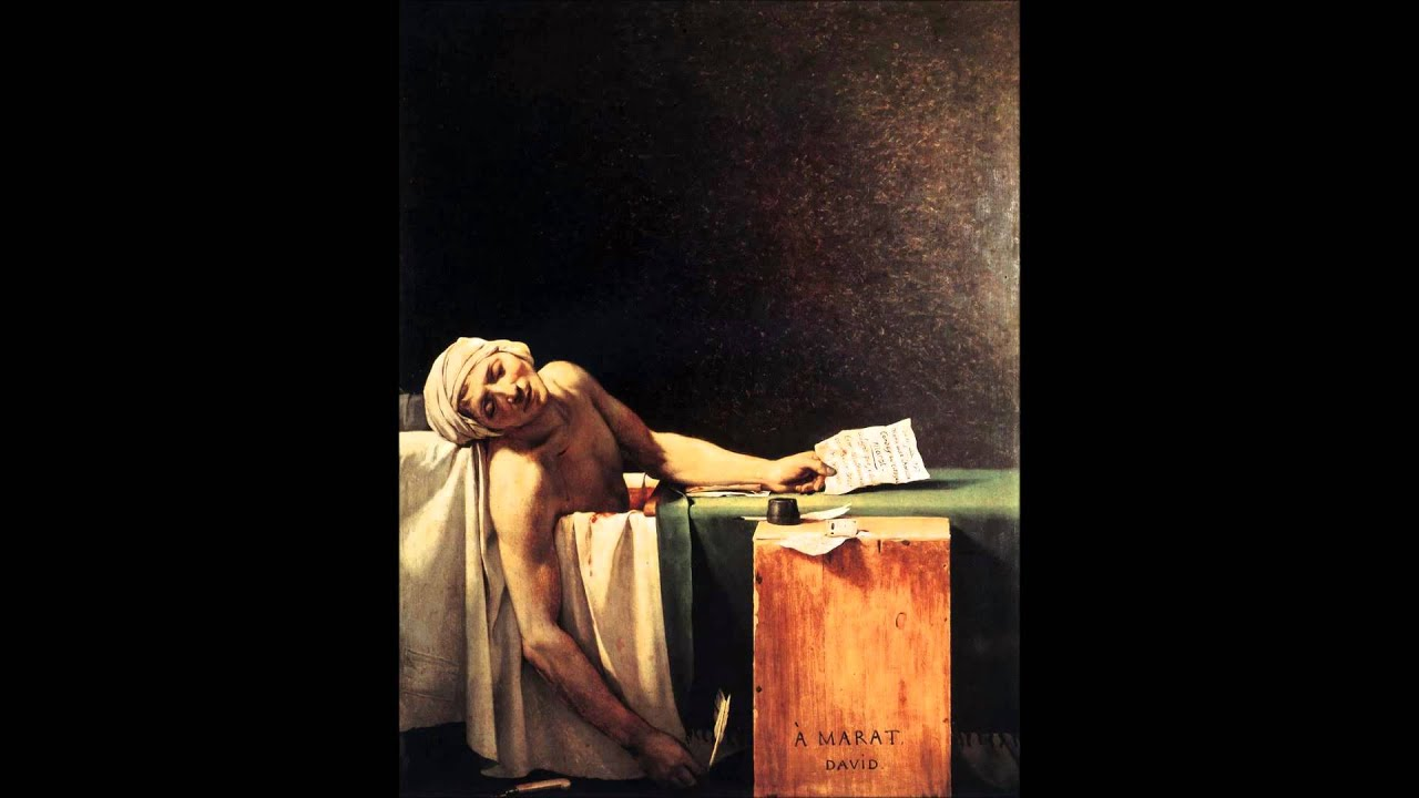 an analysis of the death of marat a portrait by jacques louis david Jacques-louis david, the death of marat neo-classicism neoclassicism, an introduction david, oath of the horatii david, oath of the horatii  this is the death of morat - [voiceover] revolutionary in two senses revolutionary in that it was painted during the french revolution, which started in 1789 france was made a republic in 1792.