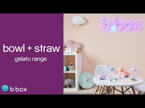 b.box bowl + straw - Gelato range!