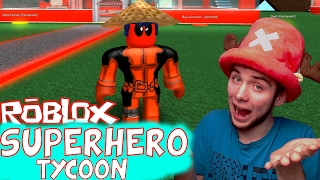 JESTEM DEADPOOLEM! | SUPERHERO TYCOON | ROBLOX #60