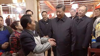 President Xi wishes restaurant owner good luck