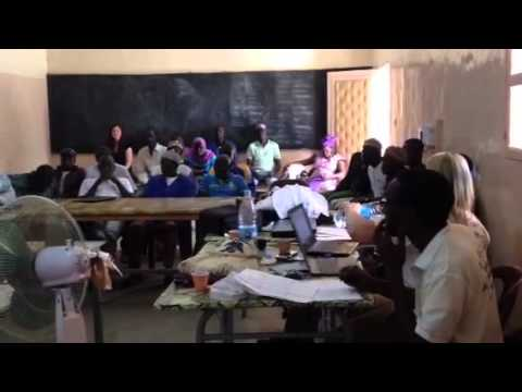 Healthcare Training by WWHI & Ministry of Health in Senegal