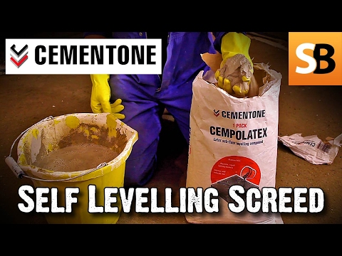 How to: Level a floor with self levelling compound - Skill