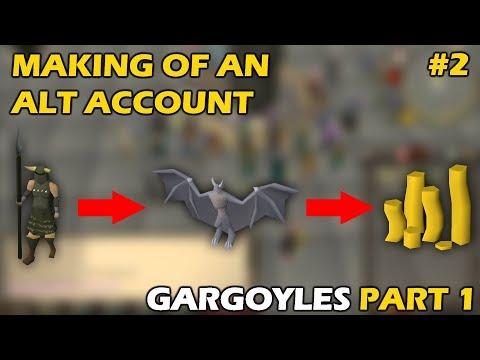 Making A GARGOYLE ALT | Part 1