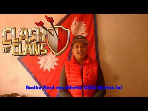 Nepali coc song adha ratma