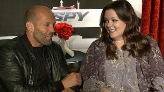 Spy Cast Interview & Official Trailer: Melissa McCarthy, Jason Statham, Rose Byrne, Paul Feig & More