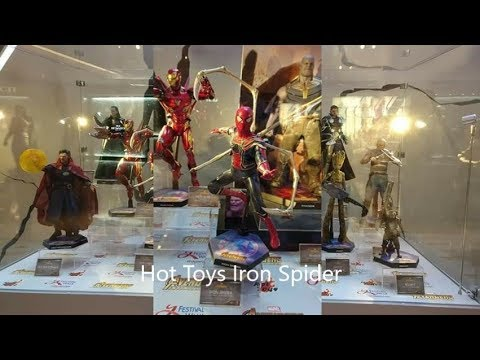 Hot Toys Iron Spider 1/6 scale showned @ Festival Walk