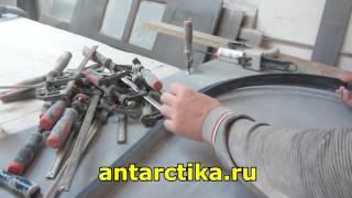 Обучение изготовлению столешниц из искусственного камня Antarrid