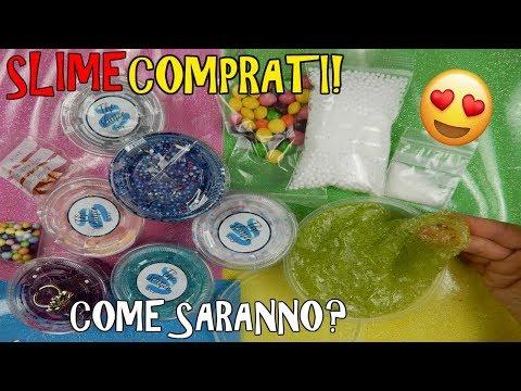 SLIME COMPRATI DA ETSY (DA THE SLIMER SHOP) COME SARANNO!? Iolanda Sweets