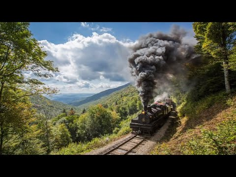 The Cass Scenic Railroad: Shay Steam Locomotives Battle the Mountain