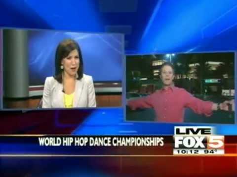 Michael Flores at Fox 5 News at Las Vegas, Nevada