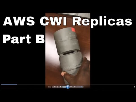 CWI 20 -   New Part B Weld Replicas Samples