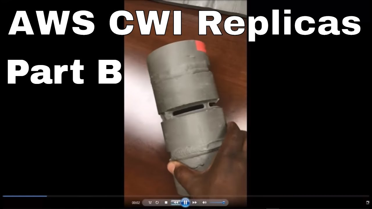 Cwi New Part B Weld Replicas Samples Youtube