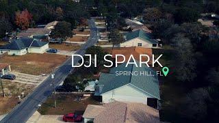 DJI SPARK in Spring Hill Florida - Cinematic Shots